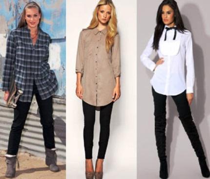 Мужская рубашка в женском гардеробе: как носить и как подобрать