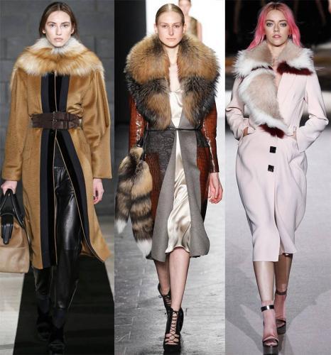 женские меховые пальто, зимние фасоны 2017-2018